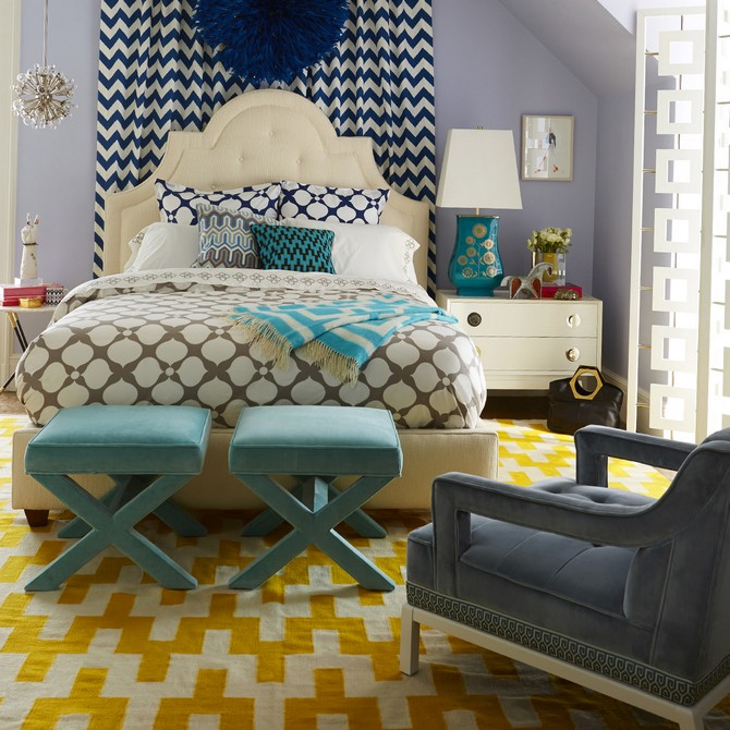 Elegant Bedroom Design by Jonathan Adler bedroom design Elegant Bedroom Design by Jonathan Adler Elegant Bedroom by Jonathan Adler 2