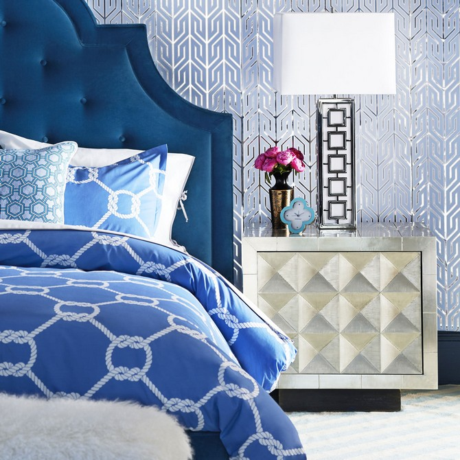 Elegant Bedroom Design by Jonathan Adler bedroom design Elegant Bedroom Design by Jonathan Adler Elegant Bedroom by Jonathan Adler 3
