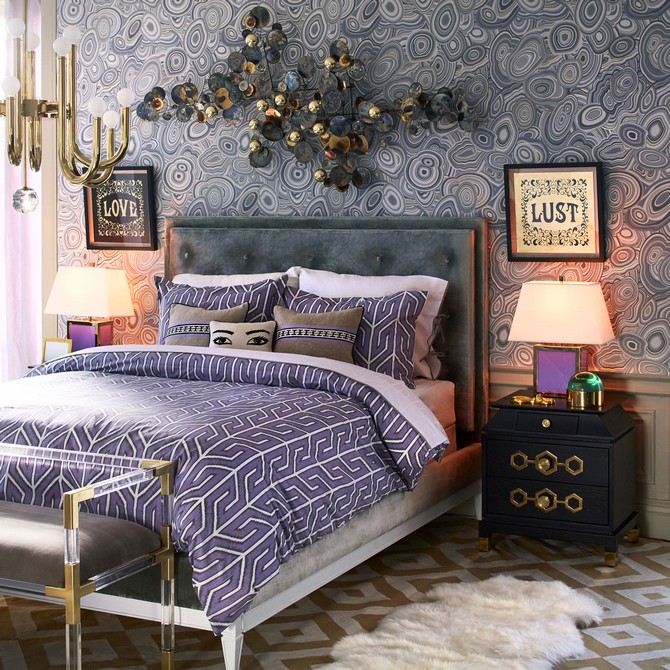 Elegant Bedroom by Jonathan Adler bedroom design Elegant Bedroom Design by Jonathan Adler Elegant Bedroom by Jonathan Adler 4