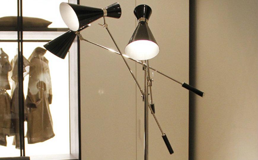modern floor lamps for an amazing bedroom. Black Bedroom Furniture Sets. Home Design Ideas