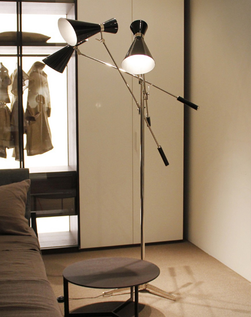 Modern floor lamps for an amazing bedroom bedroom ideas for Living room floor lamps