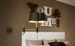 Contemporary Lighthing for a Bedroom Design
