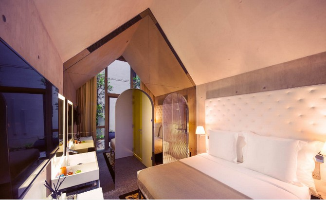 Philippe Starck Bedrooms 2 m social singapore Philippe Starck Bedrooms for Hotel M Social Singapore Philippe Starck Amazing Bedrooms for Hotel M Social Singapore 2