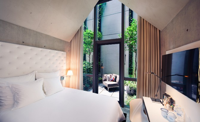 Philippe Starck Bedrooms 5 m social singapore Philippe Starck Bedrooms for Hotel M Social Singapore Philippe Starck Amazing Bedrooms for Hotel M Social Singapore 5