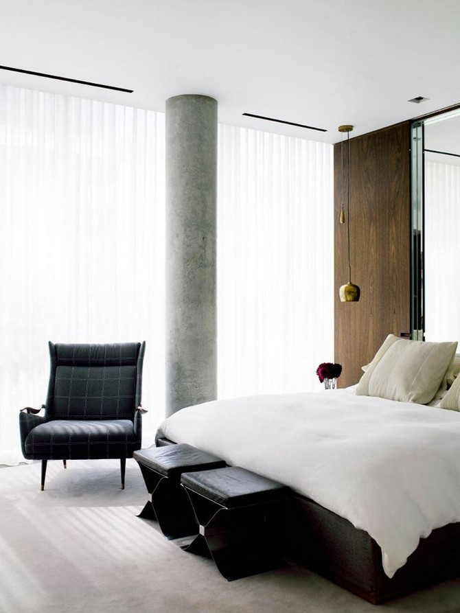 Wonderful Bedroom Interiors by Yabu Pushelberg (2) bedroom interiors Wonderful Bedroom Interiors by Yabu Pushelberg Wonderful Bedroom Interiors by Yabu Pushelberg 2
