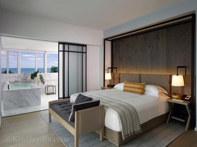 The recent refurbishment of the Victor Hotel in Miami Beach Florida by the Talented design duo Yabu-Pushelberg. bedroom interiors Wonderful Bedroom Interiors by Yabu Pushelberg Wonderful Bedroom Interiors by Yabu Pushelberg 5