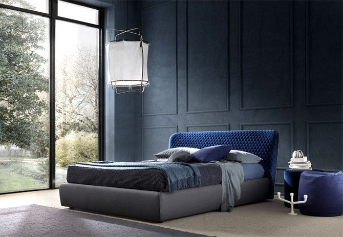 Bedroom Furniture: Corolle Double Bed by Bolzan Letti – Bedroom Ideas