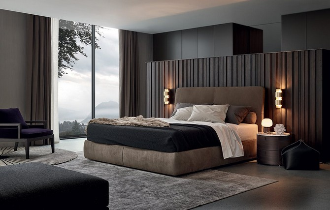 Bedroom Furniture: 4 Wonderful Beds by Poliform bedroom furniture Bedroom Furniture: 4 Wonderful Beds by Poliform 2 5