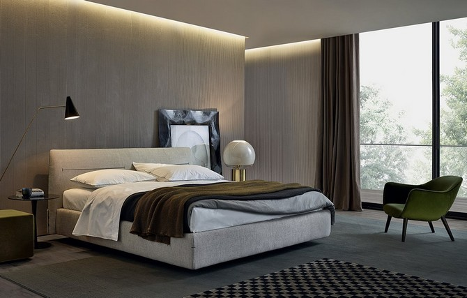 Bedroom Furniture 4 Wonderful Beds By Poliform Bedroom