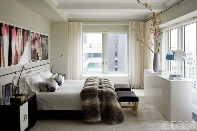 Bedroom ideas get inspired by these celebrity bedrooms for Celebrity bedroom ideas