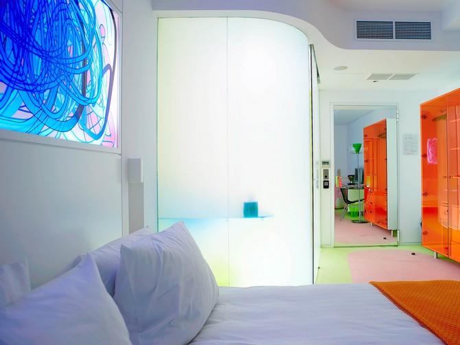 Bedroom Ideas: Karim Rashid\'s Colorful Bedrooms at Semiramis Hotel ...