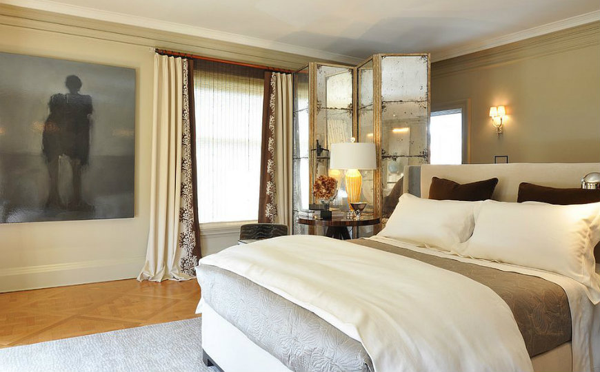 Room Dividers For A Contemporary Bedroom Design