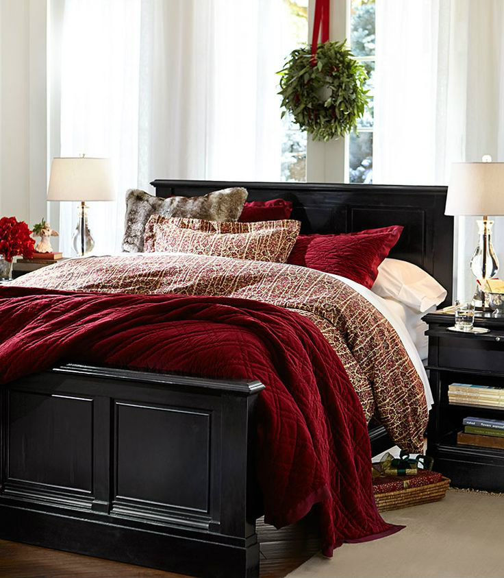 27 bedroom decorating ideas Enter the Christmas Spirit with Creative Bedroom Decorating Ideas 27