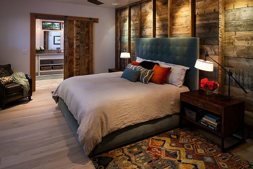 rww4 reclaimed wood walls Bedroom Ideas with Reclaimed Wood Walls RWW4