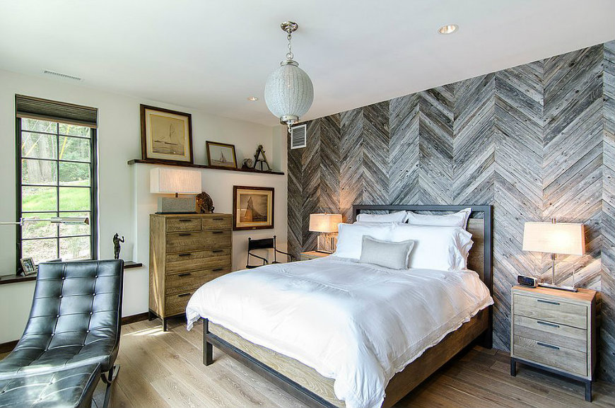 rww5 reclaimed wood walls Bedroom Ideas with Reclaimed Wood Walls RWW5