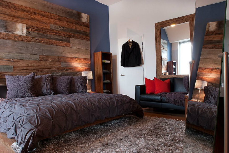 rww6 reclaimed wood walls reclaimed wood walls Bedroom Ideas with Reclaimed Wood Walls RWW6