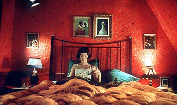 amelie-bedroom classic movie bedroom These Classic Movie Bedrooms Will Give You a Sense of Nostalgia amelie bedroom