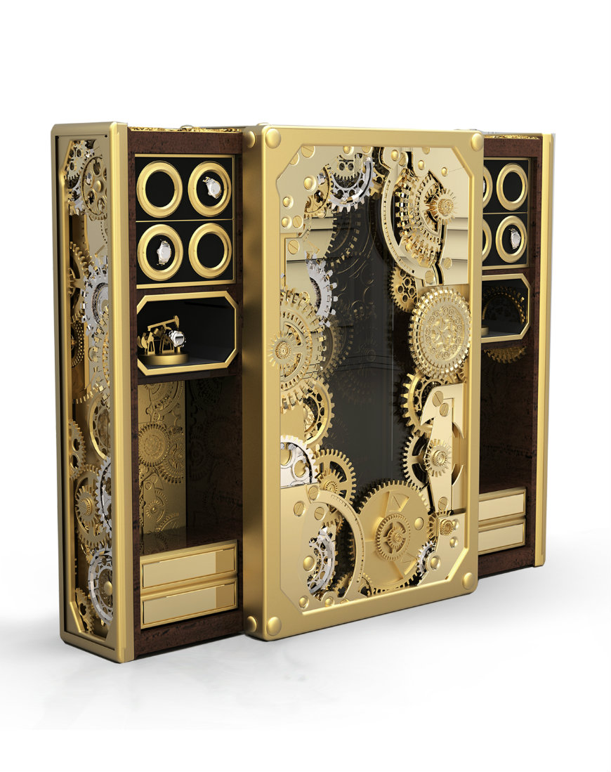 baron_gold_hd Luxury Safes Intensify Your Bedroom Decor with Boca do Lobo's Luxury Safes baron gold hd