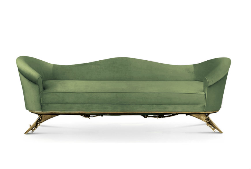 colette-sofa-6 greenery pantone pantone Decorate Your Bedroom with Pantone's Selected Colour Greenery colette sofa 6