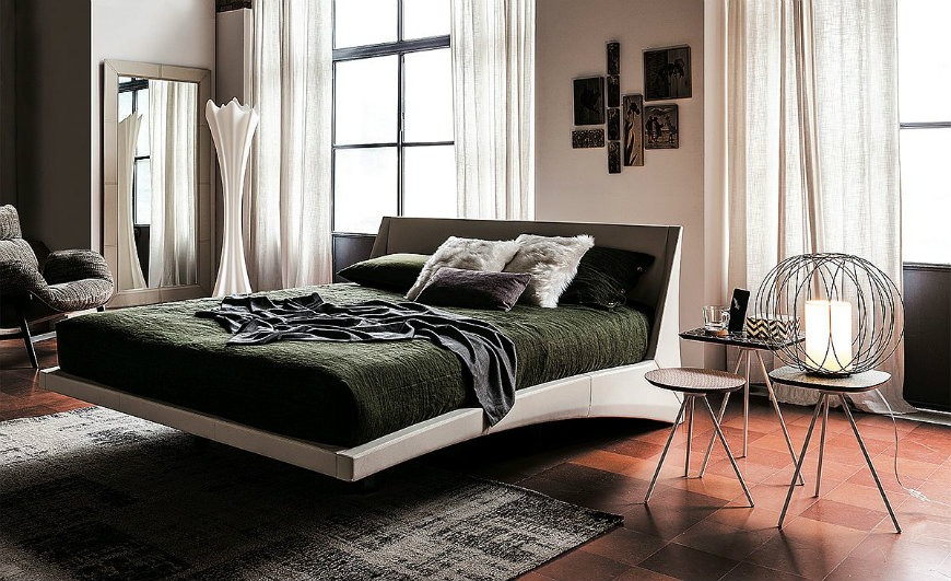 confortable bed #2 comfortable beds Take a Look at Some of the Most Comfortable Beds from Cattelan Italia confortable bed 2