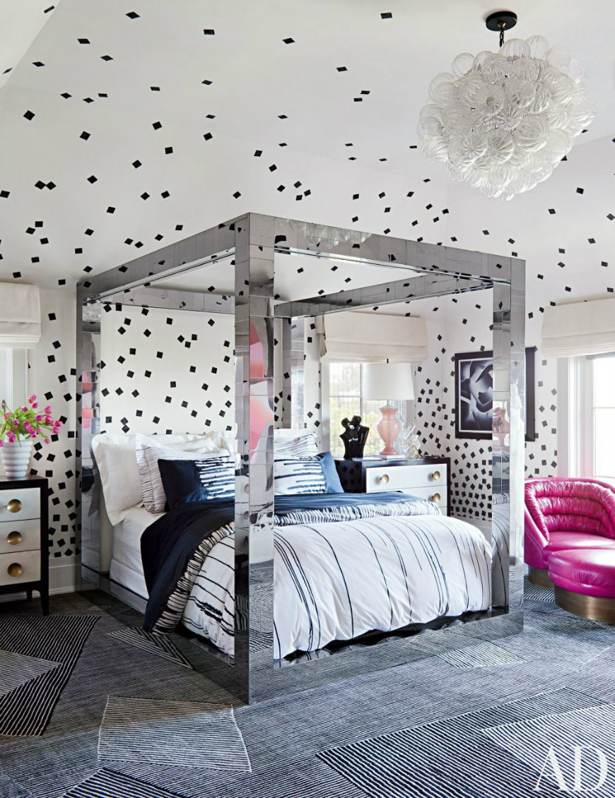 contemporary-wearstler Kelly Wearstler Phenomenal Bedroom Designs by Kelly Wearstler contemporary wearstler