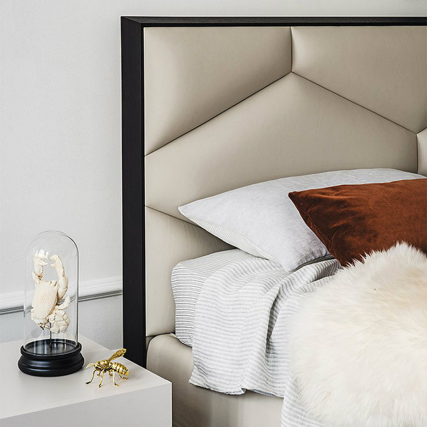 headboard2 comfortable beds comfortable beds Take a Look at Some of the Most Comfortable Beds from Cattelan Italia headboard2