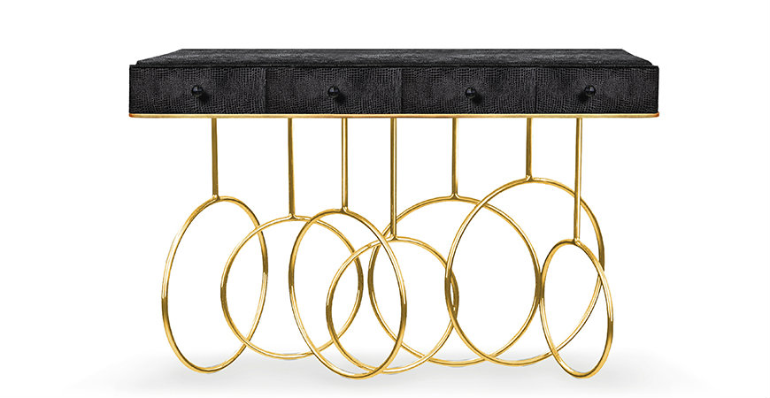 koket-burlesque-console-1 Console Tables Koket's Glamorous Console Tables Give A New Concept to Luxury koket burlesque console 1