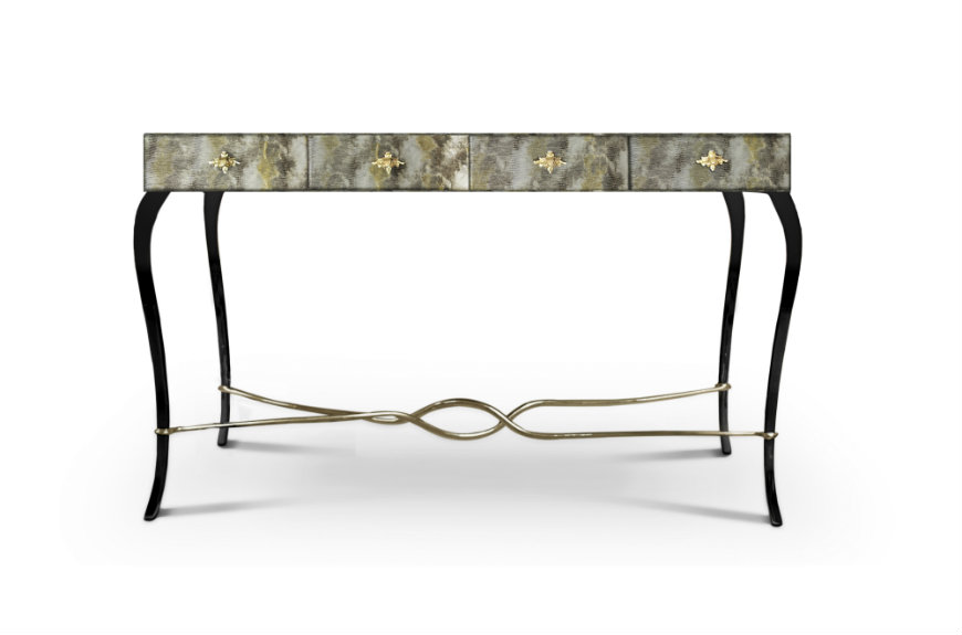 koket Console Tables Koket's Glamorous Console Tables Give A New Concept to Luxury koket