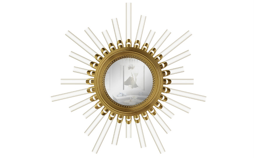 majestic-wall-light-mirror-01 bedroom decor Enhance your Bedroom Decor with these Breathtaking Designs majestic wall light mirror 01