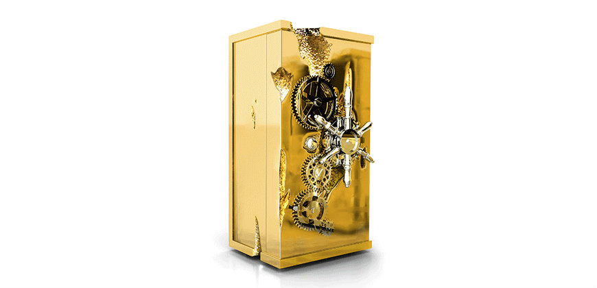 Luxury Safes Intensify Your Bedroom Decor with Boca do Lobo's Luxury Safes millionaire luxury safe box 01