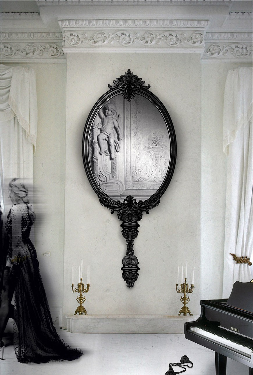 antoinette-marie Wall Mirrors Brilliant Wall Mirrors to Incorporate in Your Bedroom Design antoinette marie