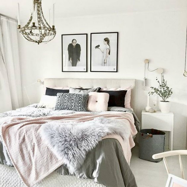 Bedroom ideas how to pull off the most glamorous pink bedrooms bedroom ideas for Black bedroom ideas pinterest