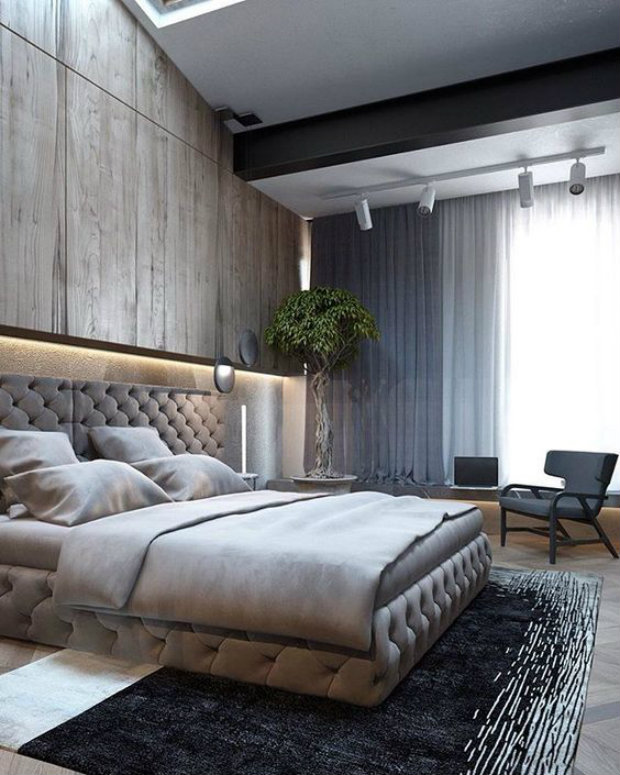 High Ceiling Decorating Ideas: Unique Ways To Decorating Bedrooms With High Ceilings