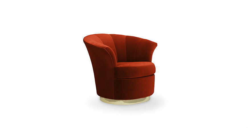 besame-chair-9 bedroom decor Bedroom Decor Bright Up Your Bedroom Decor with Fabulous Orange Chairs besame chair 9
