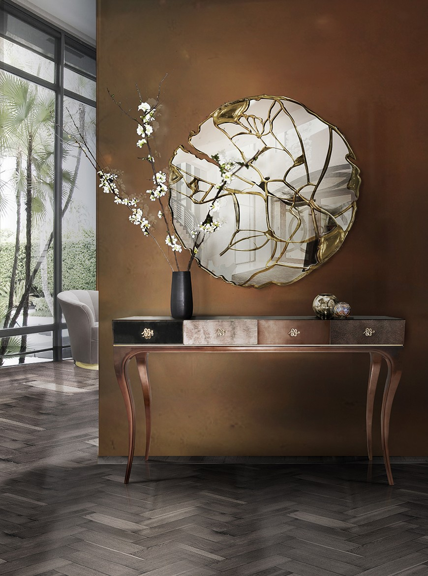 entrance-boca-do-lobo-07 Wall Mirrors Brilliant Wall Mirrors to Incorporate in Your Bedroom Design entrance boca do lobo 07