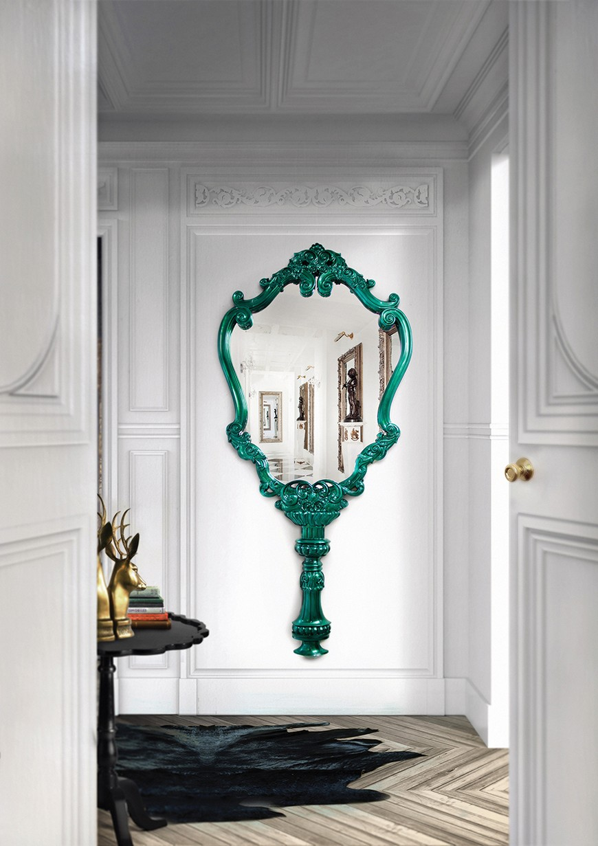 entrance-boca-do-lobo-23 Wall Mirrors Brilliant Wall Mirrors to Incorporate in Your Bedroom Design entrance boca do lobo 23