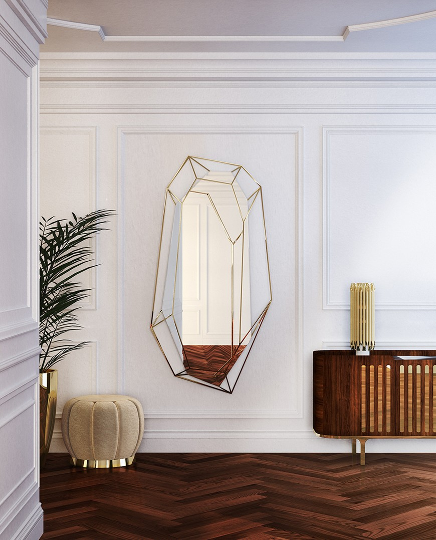 entrance-essential-home-06 Wall Mirrors Brilliant Wall Mirrors to Incorporate in Your Bedroom Design entrance essential home 06