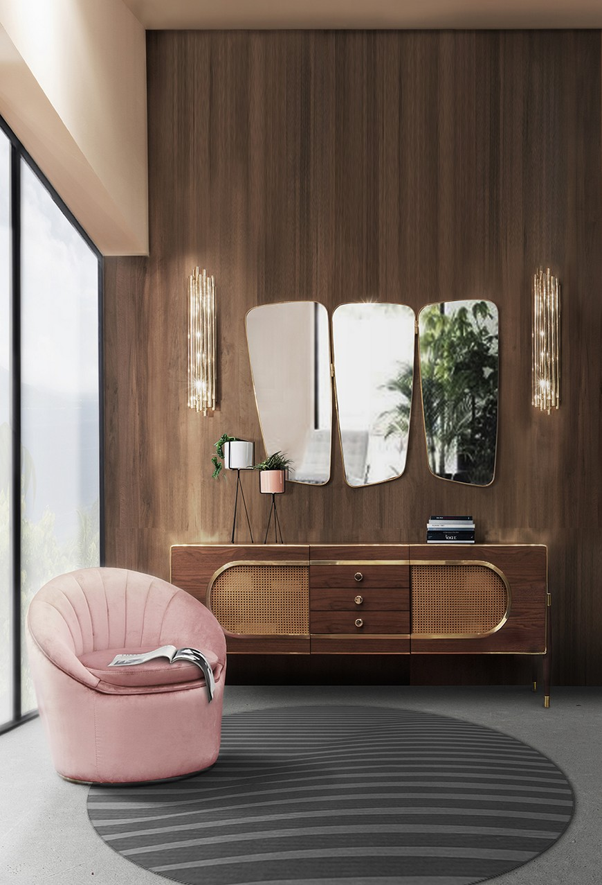 entrance-essential-home-07 Wall Mirrors Brilliant Wall Mirrors to Incorporate in Your Bedroom Design entrance essential home 07