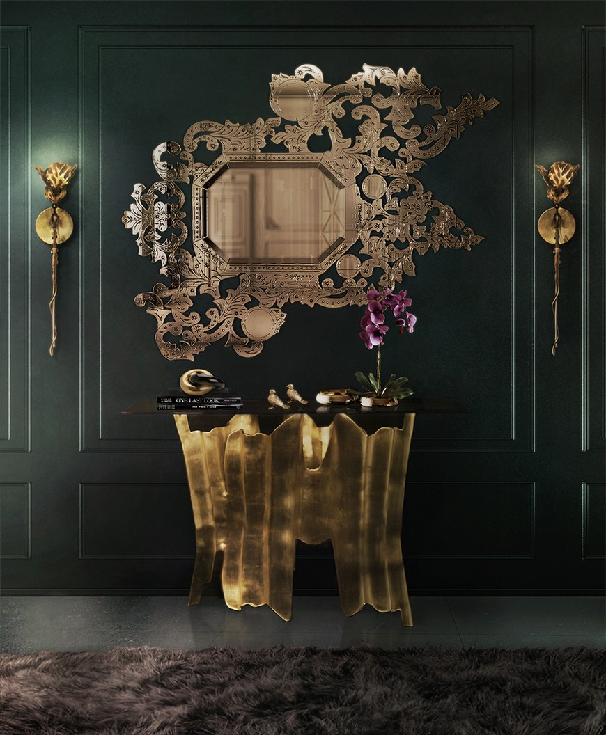 entrance-koket-01 Wall Mirrors Brilliant Wall Mirrors to Incorporate in Your Bedroom Design entrance koket 01
