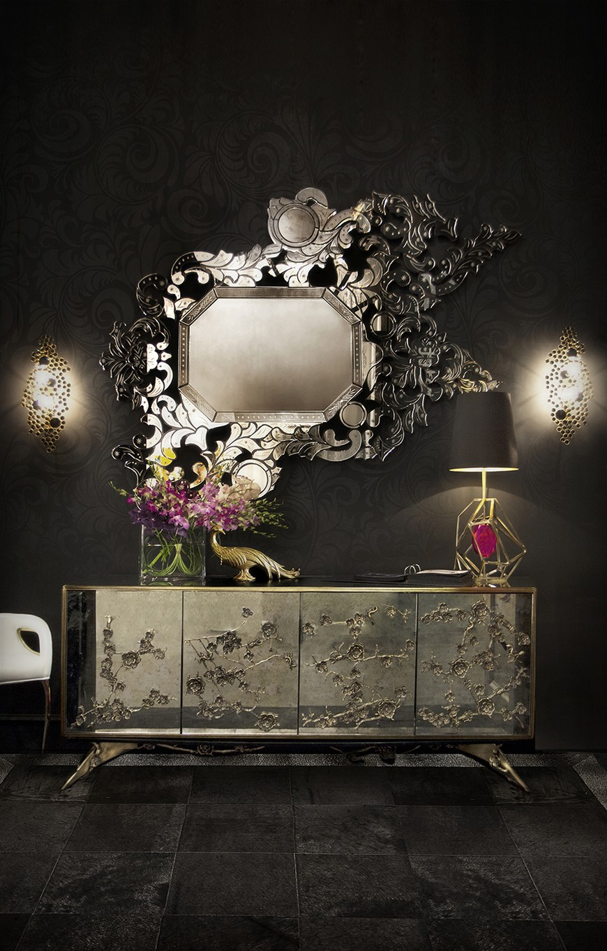 entrance-koket-02 Wall Mirrors Brilliant Wall Mirrors to Incorporate in Your Bedroom Design entrance koket 02