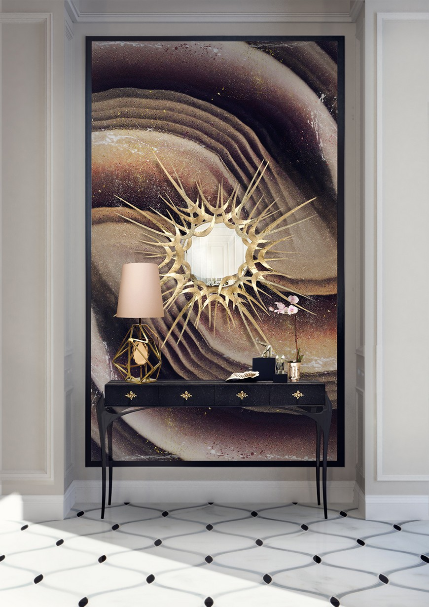 entrance-koket-08 Wall Mirrors Brilliant Wall Mirrors to Incorporate in Your Bedroom Design entrance koket 08