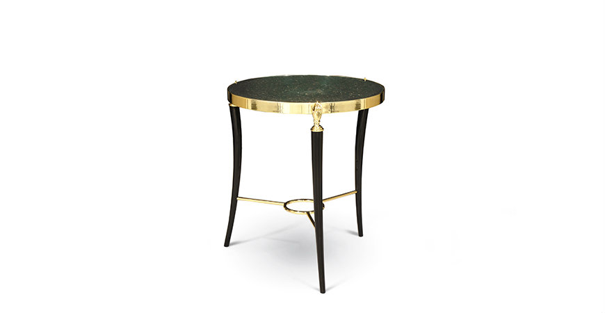 gisele-side-table-1 KOKET Be Mesmerised by KOKET's Most Recent Luxurious Designs gisele side table 1