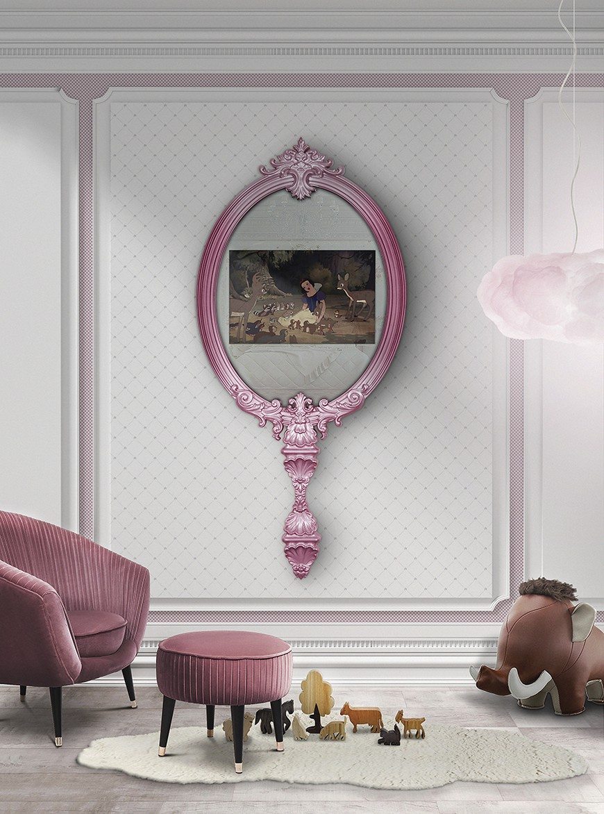 kids-circu-magical-furniture-magical-mirror-with-tv Wall Mirrors Brilliant Wall Mirrors to Incorporate in Your Bedroom Design kids circu magical furniture magical mirror with tv