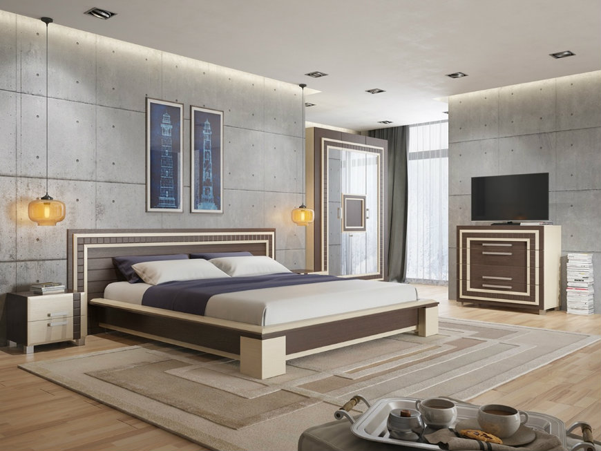 wall designs 3 wall designs Striking and Artistic Wall Designs to Decorate Your Bedroom wall designs 3