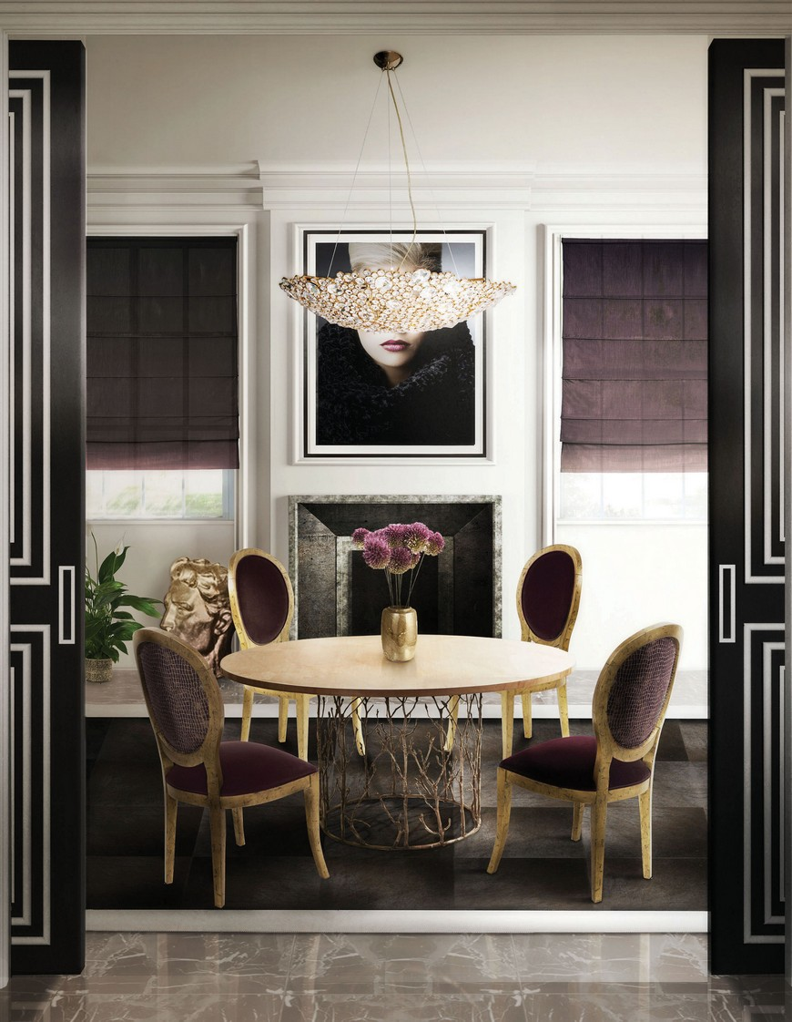 KK Dining Room (1)  Be Inspired by Cutting-Edge Interior Design Projects by KOKET KK Dining Room 1