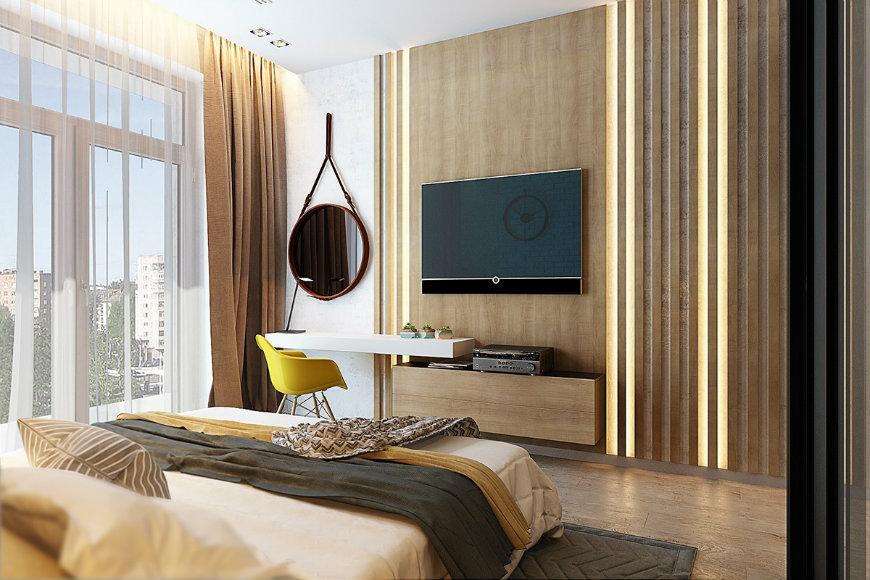 accent walls 1 Accent Walls Original and Incandescent Bedroom Ideas with Accent Walls accent walls 1
