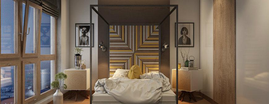 accent walls 3 Accent Walls Original and Incandescent Bedroom Ideas with Accent Walls accent walls 3