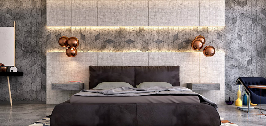 bedroom-accent-wall accent walls Original and Incandescent Bedroom Ideas with Accent Walls bedroom accent wall