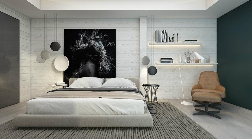 bedroom-wall-decor-ideas accent walls Original and Incandescent Bedroom Ideas with Accent Walls bedroom wall decor ideas