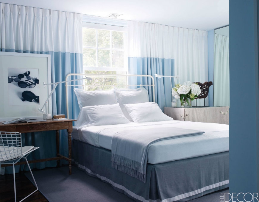 10 tremendously designed bedroom ideas in shades of blue for Blue bedroom ideas for couples